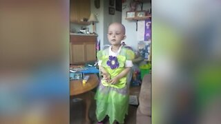 Eaton Rapids girl becomes 2021 'Sparrows Miracle Child'