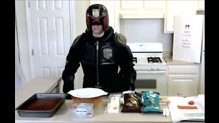 Cooking with Dredd - Judge Pops