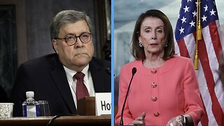 Pelosi Says Barr Lied to Congress, But DOJ Says He Did Nothing Wrong