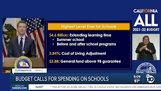 Governor announces State's largest education budget proposal