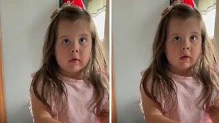 """Little girl has hilarious response to """"stranger danger"""" question"""