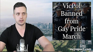 VicPol banned from Gay Pride march
