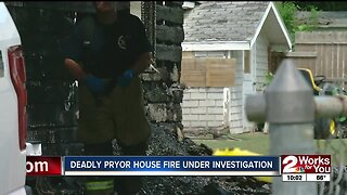 Deadly Pryor house fire under investigation