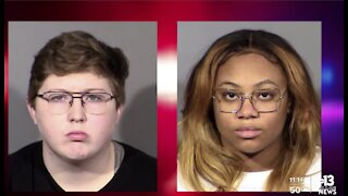 Young couple accused of killing dog