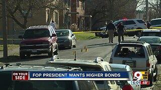 Cincinnati Police Union leader pushing for higher bonds