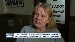 Two arrests made in armed robbery