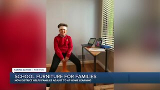 School furniture for families during the pandemic