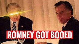 Mitt Romney Got BOOED By Utah Republicans