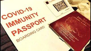 COVID PASSPORTS!