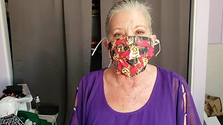 Donna shows how to make personal masks