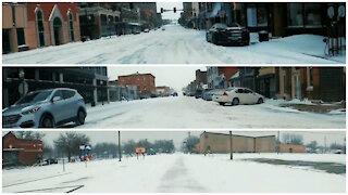 Snow Drive Timelapse - Missouri [ Feb. 2021 ]