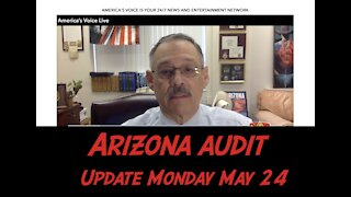 Mark Finchem gives Arizona Audit Update May 24, 2021