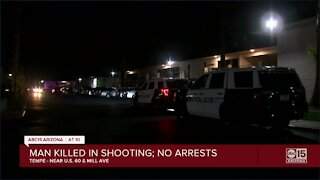 Police investigating deadly shooting near US 60 and Mill Avenue in Tempe
