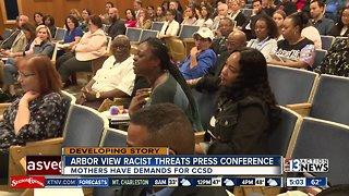 Parents demand change after Arbor View HS racist threats