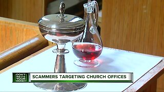 Scammers targeting church offices