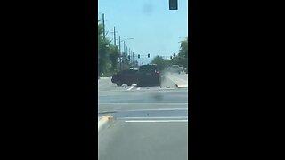 VIDEO: Wrong-way driver crashes into car in Mesa