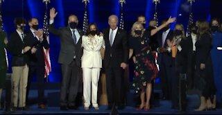 Kamala Harris makes history as Vice President Elect