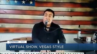 Frankie Scinta delivers virtual show, Vegas style