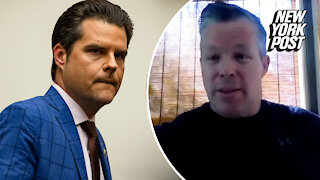 Man accused of trying to extort Matt Gaetz admits he asked for cash