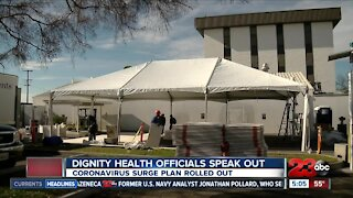 Dignity Health officials speak out about ICU capacity