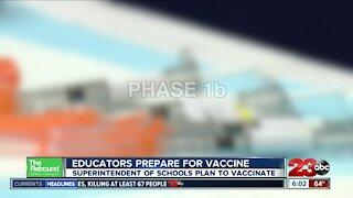 Educators prepare for vaccine