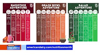 American Dairy Association North East - National Nutrition Month