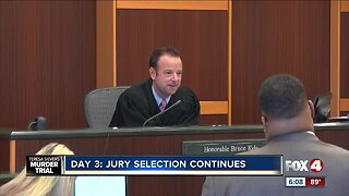 Day 3 Jury selection Sievers murder trial