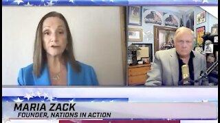 Maria Zach Latest interview - intelligence intercepts suggesting Joe Biden will step down soon