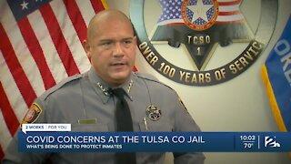 COVID-19 concerns at the Tulsa County Jail