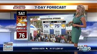 Breezy but warm for Tucson Festival of Books
