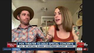 Fox Theater Live Stream Vaccine preview