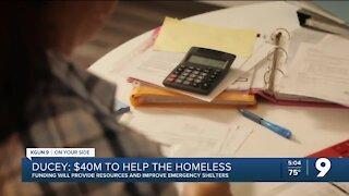 Arizona Governor: $40M to help prevent homelessness in Arizona