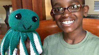 11-year-old Crochet Whizz Becomes Unlikely Online Sensation With Incredible Skills