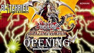 Yu-Gi-Oh! Blazing Vortex Booster Box Opening YGO