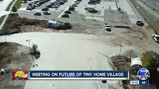 Meeting to be held on future of Denver tiny home village
