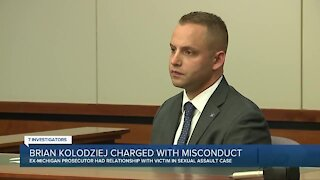 Brian Kolodziej charged with misconduct