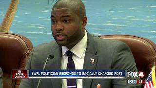 Local politician speaks out about racist comment