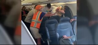 Fight breaks out on plane over face masks