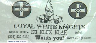 Racist fliers left at homes of interracial couples in Trenton