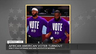 African American voter turnout could determine who wins Michigan