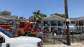 2 people injured, 4 pets dead after apartment fire on Sunday
