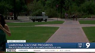 UArizona vaccine progress