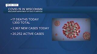 Update on coronavirus in Wisconsin