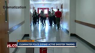 EXCLUSIVE: Clearwater Police overhauls its active shooter training