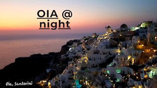 SANTORINI (Greece): Episode 4 - Magical Oia at Night