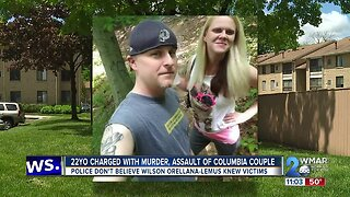 22-year-old charged with murdering and assaulting couple inside Columbia apartment