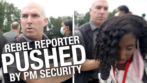 SHOCK VIDEO: Rebel journalist manhandled by Trudeau's RCMP