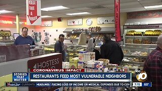 Restaurants serve most vulnerable