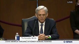 Merrick Garland Refuses to State Illegally Crossing the Border Is a Crime!