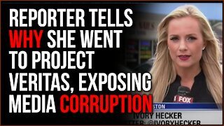 Fox Local Reporter Shares Story After Going VIRAL Exposing Media Corruption To Project Veritas